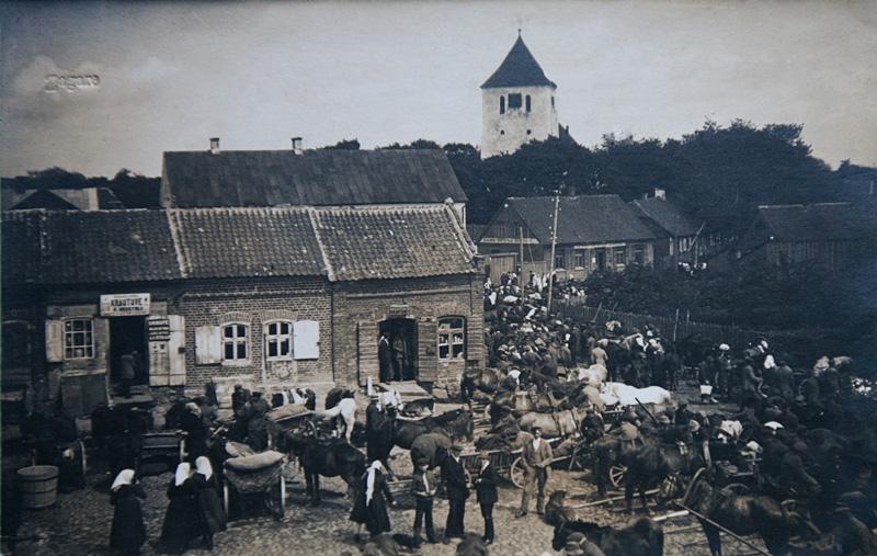 Jomarkas Žagarėje 1924 m.